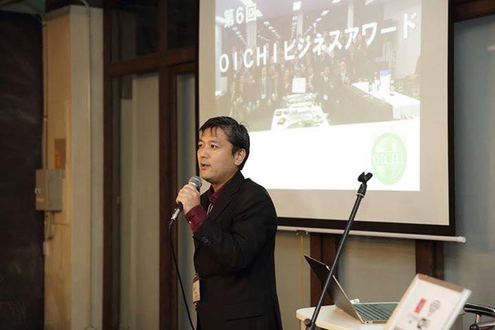 OICHI理事長の坂佐井より挨拶