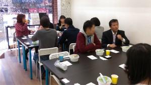 お弁当は、まちbiz会員の桜井さんに提供していただきました